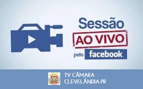 Câmara de Clevelândia começa a transmitir sessões ao vivo pelo Facebook